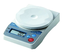 Digital Scales feature 5 in. round weigh pan.