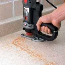 Jigsaw Handle Attachment enables 360° cutting.