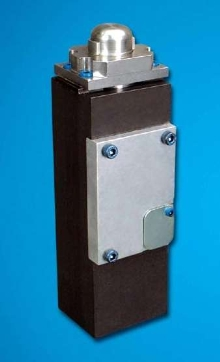 Pin Locating Clamp features fully enclosed design.