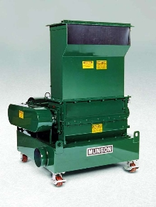 Screen Classifying Cutter controls particle size range.