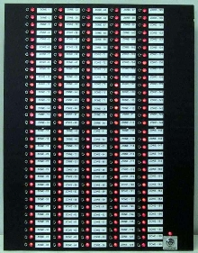 Annunciators can monitor up to 100 doors or zones.