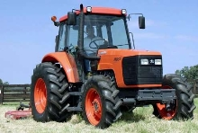 Tractors are powered by diesel engine.