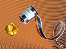 Rotary Encoder uses opto/magnetic electronic technology.