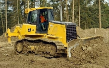 Crawler Dozers feature engines ranging from 145-200 hp.