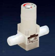 Needle Valve offers manual linear flow control.