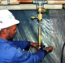Line Stopping System eliminates water shutdown.