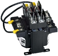 Control Transformer offers multiple fusing options.