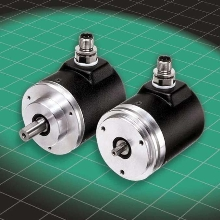 Rotary Encoder offers shaft speed up to 12,000 rpm.