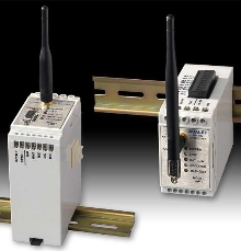 Wireless System communicates with multiple field points.
