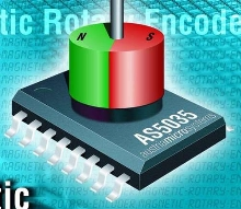 Magnetic Rotary Encoder IC works in harsh environments.