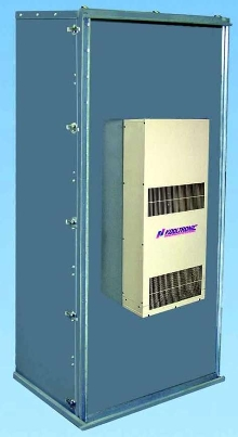 Enclosure Air Conditioner can be mounted inside or out.