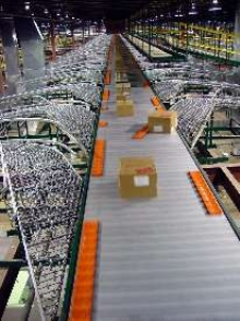 Software optimizes conveying and sorting systems.