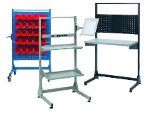 Stationary Stands/Mobile Trolleys offer modular design.