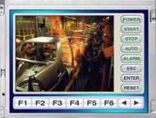 Color TFT LCDs are suited for industrial use.