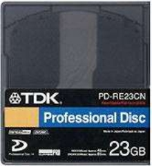 Optical Disc has 23.3 Gb capacity and 72 Mbps transfer rate.