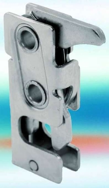 Push-to-Close Rotary Latch suits industrial enclosure doors.