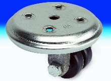 Twin Wheel Casters suit material handling applications.