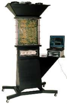 Wind Tunnel tests heat and air flow on multiple PCBs.