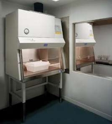 Safety Cabinets protect animals and lab personnel.