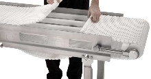 Sanitary Conveyors are constructed of stainless steel.