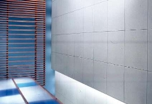 Acoustical Ceiling Panels provide clean appearance.