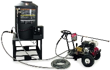 Gas Heater adds heat to cold water pressure washers.