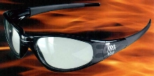 Safety Glasses provide distortion-free viewing.