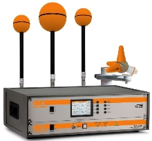Field Monitor and Probes acquire readings down to .5 V/m.