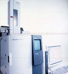 Gas Chromatograph utilizes AFC technology for analysis.