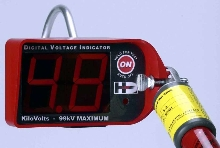 Digital Voltage Indicator suits long reach applications.