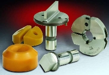 Tooling System has quicker tool setup features.