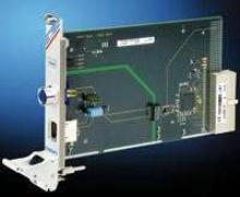 CompactPCI Module allows data rates up to 100 Mbit/s.