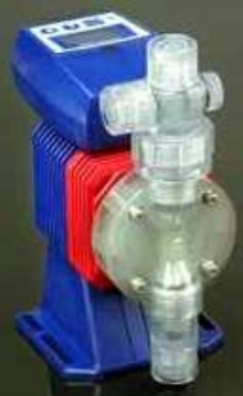 Metering Pump has 360:1 turndown ratio.