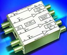 Quad-Channel Line Driver is suited for laboratory use.