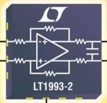 Fixed Gain Differential Amps drive high-speed ADCs.