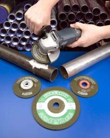 Abrasive Grinding Wheels promote weld integrity.