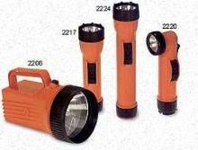 Flashlights minimize risk in hazardous environments.