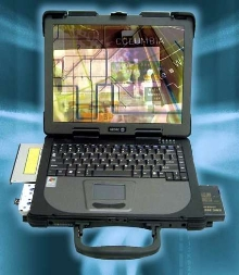 Rugged Laptop Computer incorporates 15 in. screen.