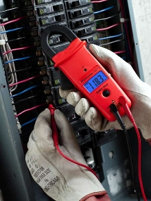 Multimeter employs AutoTect(TM) and automatic backlight.