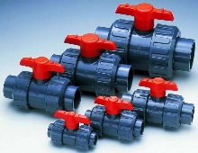 Ball Valve suits water and light chemical applications.
