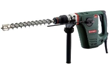 Rotary Hammer combines hammer drilling and chiseling.