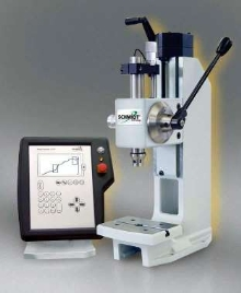 Manual Press features electronic stroke and process control.