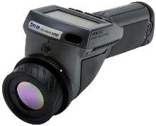 Hand Held IR Camera has built-in 320 x 240 pixel array.