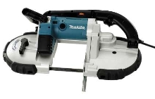 Portable Band Saws feature 6.5 A motor.