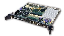 CPU Board offers front panel I/O access.