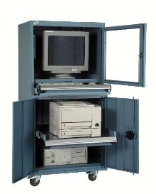Computer Cabinet features interior reinforcements.