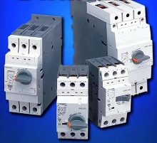 Manual Motor Starters come in models rated to 100 A.