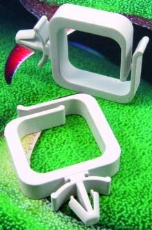 Fuel Line Clip has oil/gas-resistant design.