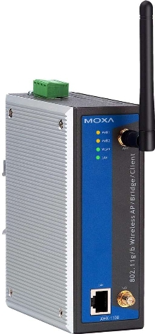 Wireless Device suits industrial networking applications.