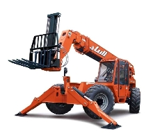 Telehandler provides 80 in. of horizontal boom travel.